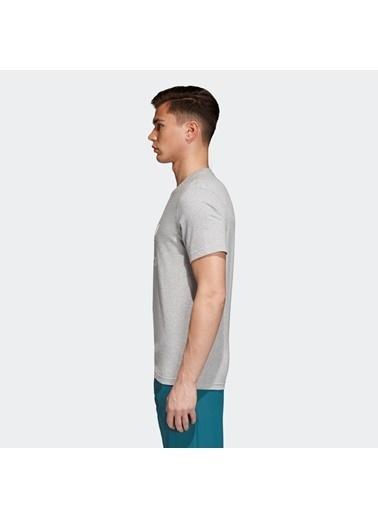 adidas Erkek Trefoıl  Tişört CY4574 Gri